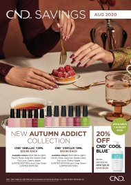 *New*Autumn Addict Aug 2020- CND Shellac 7.3ml