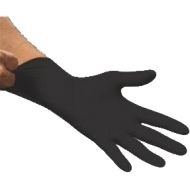 Boss Black Powder Free Nitrile Gloves