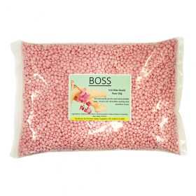 Boss Hot Wax Beads - Rose 1 kg
