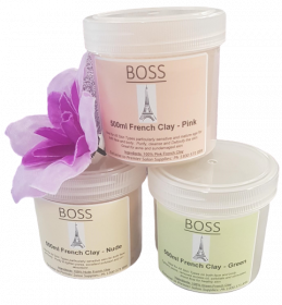 Boss French Clay - Pink 500ml