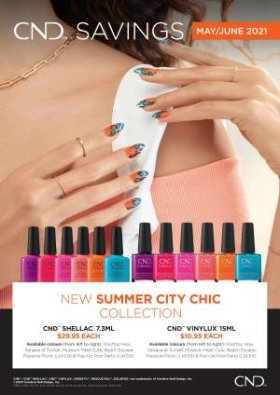 *New * Summer City Chic Collection May / Jun 2021 Vinylux