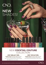 *New* Cocktail Couture Collection Dec 2020 - Shellac 7.3ml