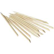 Boss Cuticle Sticks 3 inch - 100pk (Beval / Point)