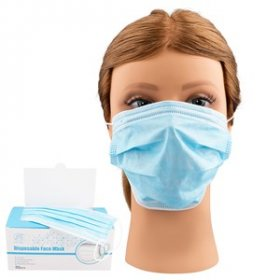 Disposable Face Masks 50pk