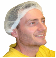 Disposable Hair Net Caps 1000pk