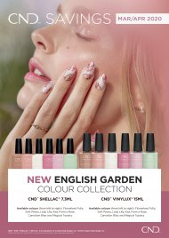 *New* English Garden Collection - CND Shellac 7.3ml