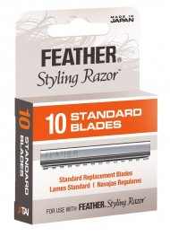 Feather Styling Blades - 10 Pack