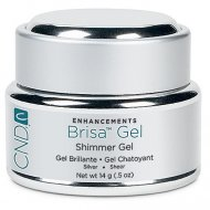 Brisa Coloured Sculpting Gel - Silver Shimmer - Sheer 14 gm