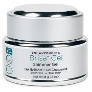 Brisa Coloured Sculpting Gel - Silver Frost - Semi Sheer 14 gm