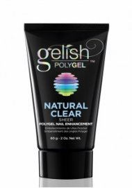 Gelish PolyGel - Natural Clear 2oz