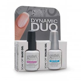 Gelish - Duo Dynamic (Top It Off & Foundation)