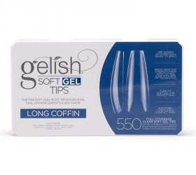 Soft Gel Tips - Long Coffin Box 550