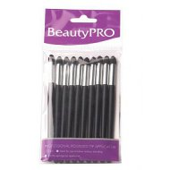 Beauty Pro Eyeshadow Applicator - Round Tip 10pk