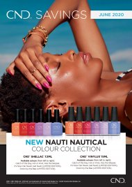 *New* Nauti Nautical Jun 2020 - CND Shellac 7.3ml