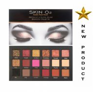 Skin O2 Metallic and Nude Glam Shadow Palette