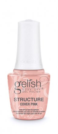 Gelish Structure Gel - Soak Off Cover Pink 15ml Brush On