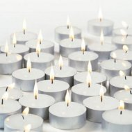 BUY ONE GET ONE FREE - Tea Light Candles 25pk