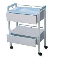 Joiken 2 Tier Trolley & 2 Drawers on Castors