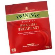 Twinings English Breakfast Box 100