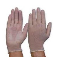 Low Powdered Vinyl Gloves