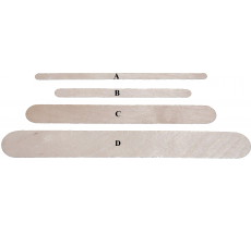 Boss Medium Spatulas Carton of 5,000. (150mm x 18mm)